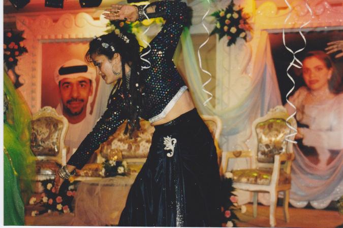 Priya Performing For A Traditional Wedding Dubai