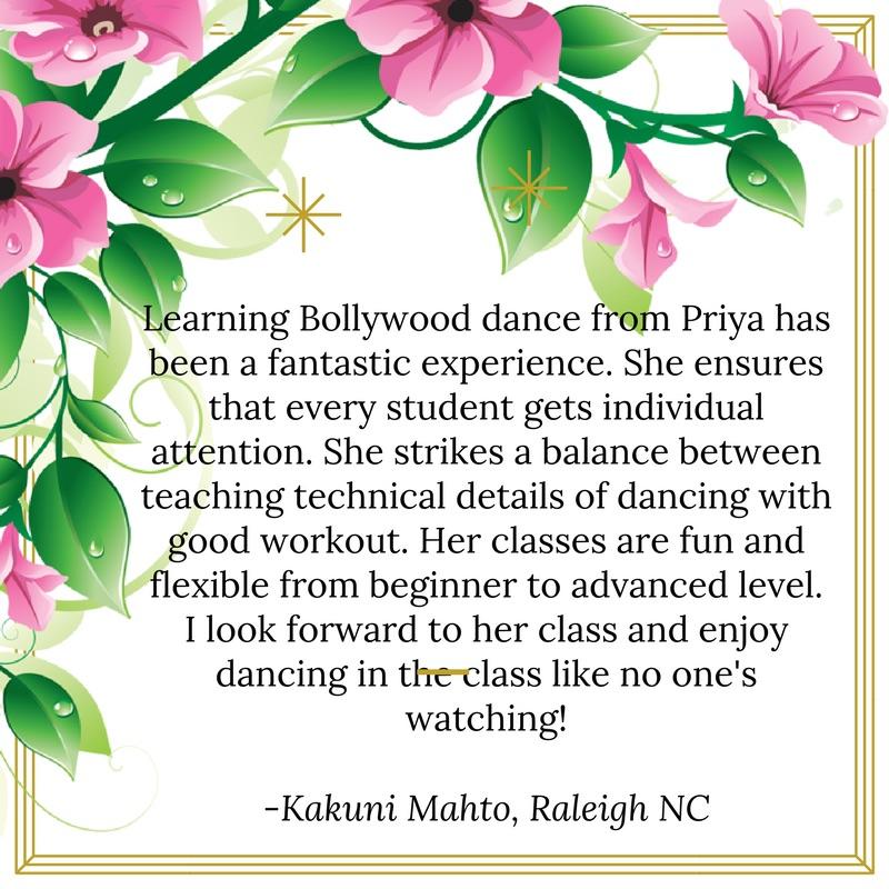 Best Bollywood Dance School Morrisville Cary Raleigh Apex Durham