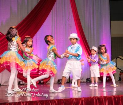 Bollywood dance classes for children , kids